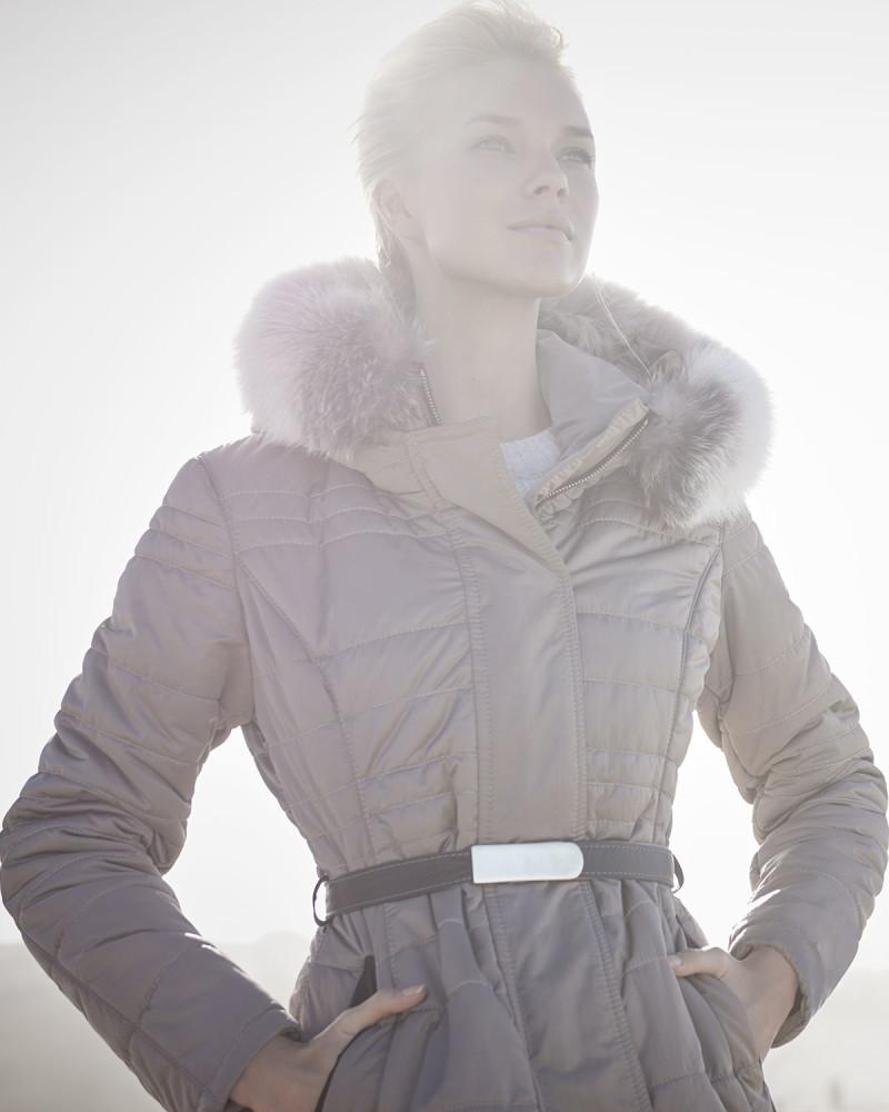 Gorski Belted Puffer Coat
