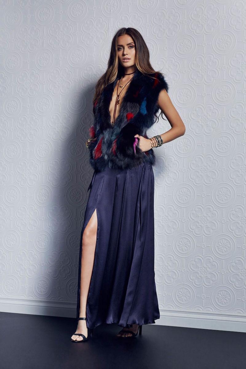 L'AGENCE Ocean Maxi Skirt