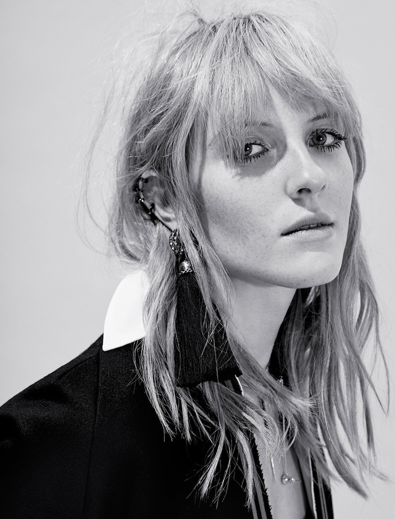Lanvin Black Clip-On Marina Tassel Earrings