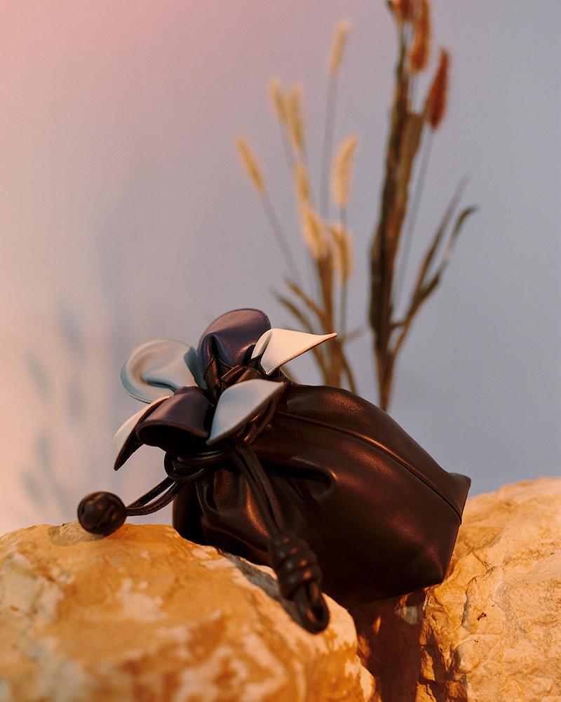 Loewe Blue Small Flamenco Petal Bag