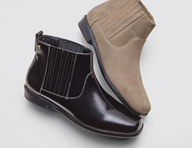 Low-Cut Style Ankle Boots at MYHABIT