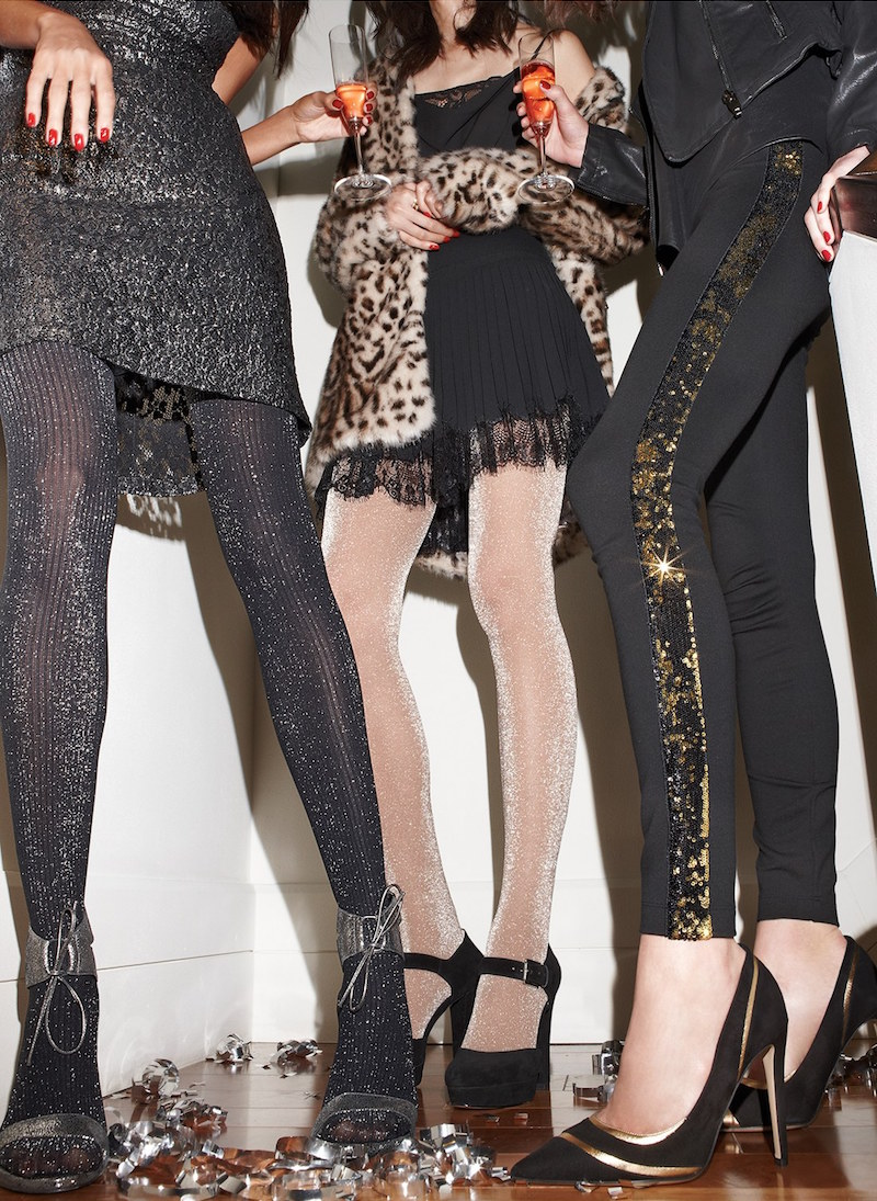 Lyssé Sequin Ponte Leggings