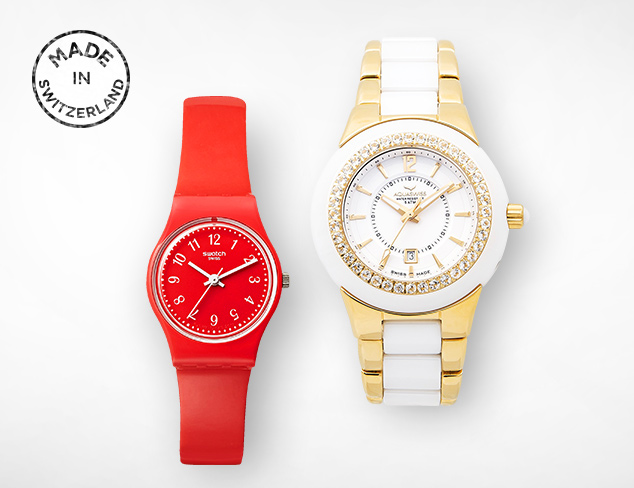 Made in Switzerland Watches at MYHABIT