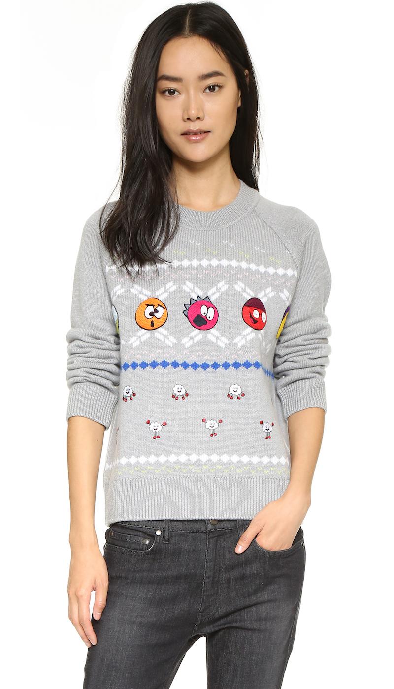 Mira Mikati Christmas Sweater