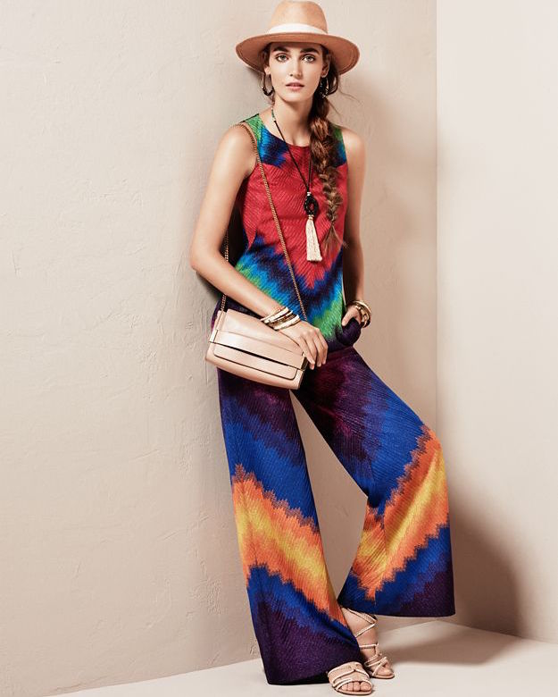 Missoni Lame Multi Colored Sleeveless Jumper