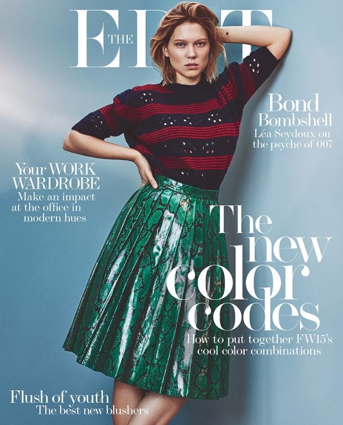 Miu Miu Pointelle-paneled striped wool sweater