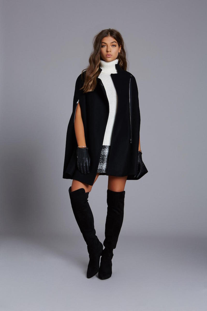 NATIVE STRANGER Oversized Cape