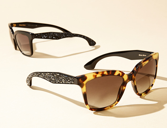 New Markdowns Sunglasses feat. Miu Miu at MYHABIT
