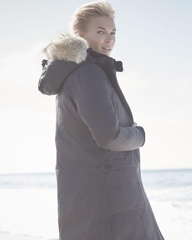 Nobis Meredith Coat with Fur Hood
