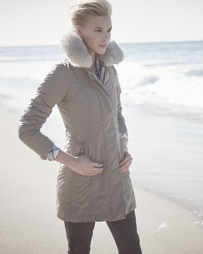 Peuterey Metropolitan Fitted Fur-Collar Parka-