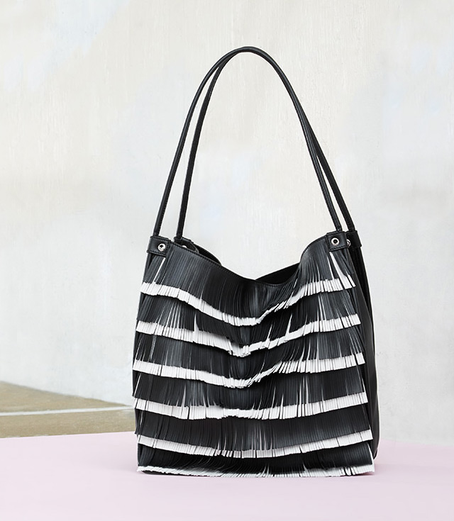 Proenza Schouler Medium Fringe Leather Tote