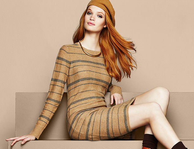 Sweater Dresses feat. Cashmere Addiction at MYHABIT