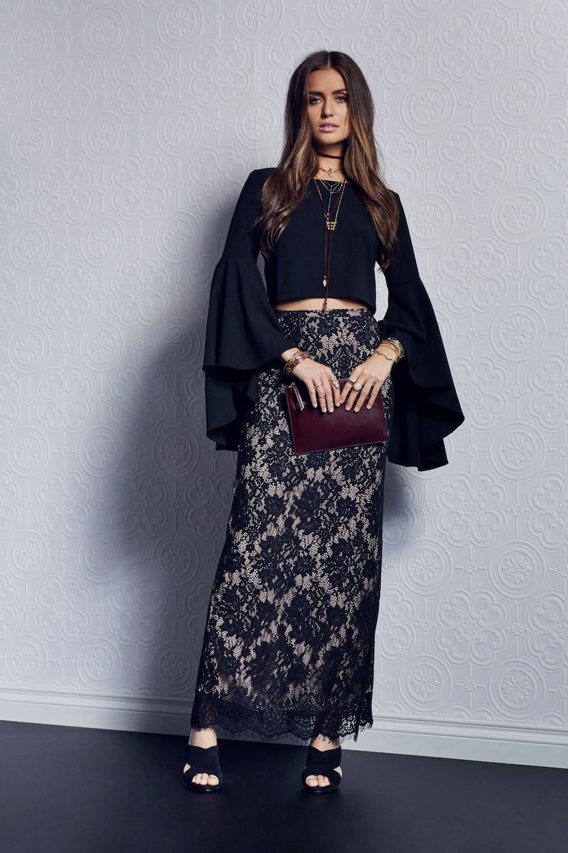 THE JETSET DIARIES Fantasia Maxi Skirt