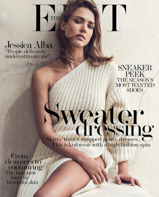 The Lone Wolf Jessica Alba for The EDIT_Cover