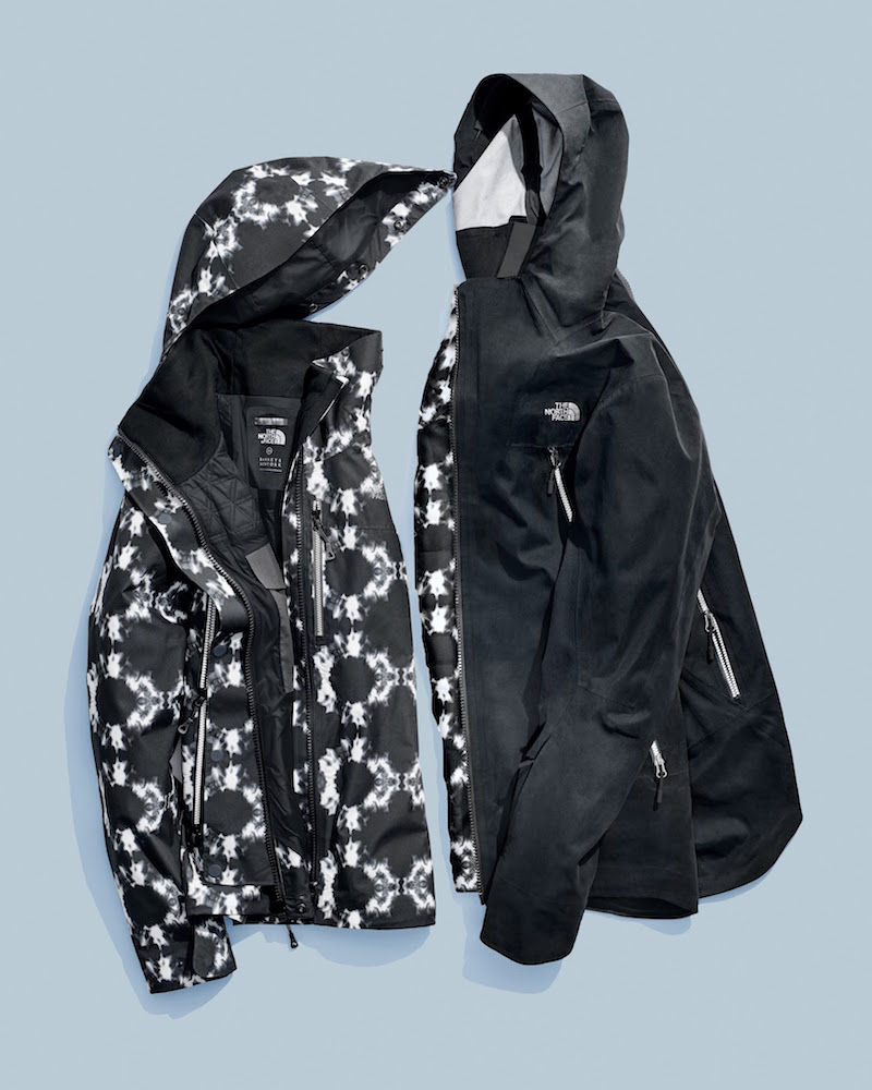 The North Face Shibori-Print Hooded Parka