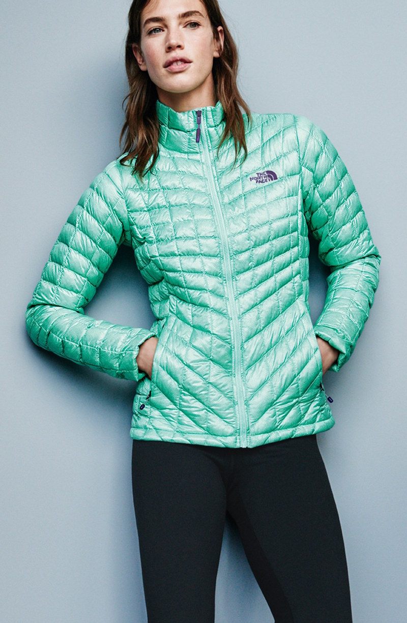 The North Face ThermoBall PrimaLoft Front Zip Jacket