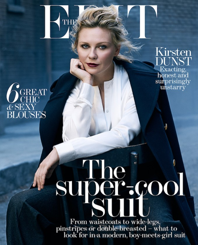 The Reluctant Star Kirsten Dunst for The EDIT_Cover