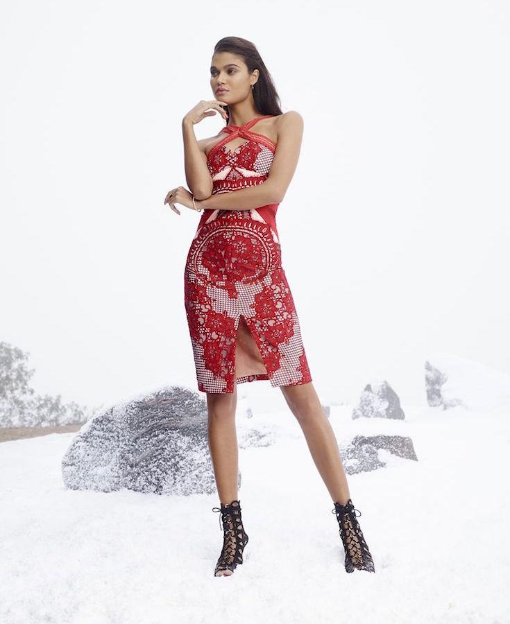 Three Floor Aruba Midi Dress
