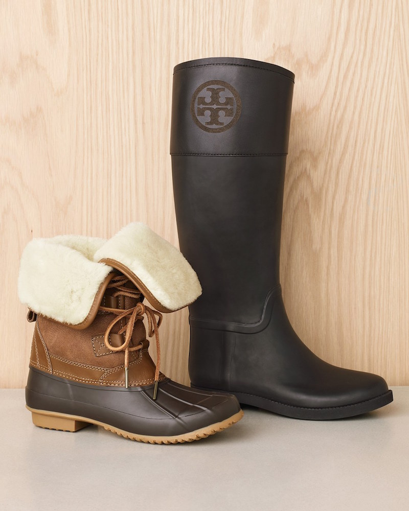 Tory Burch Argyll Lace-Up Boot