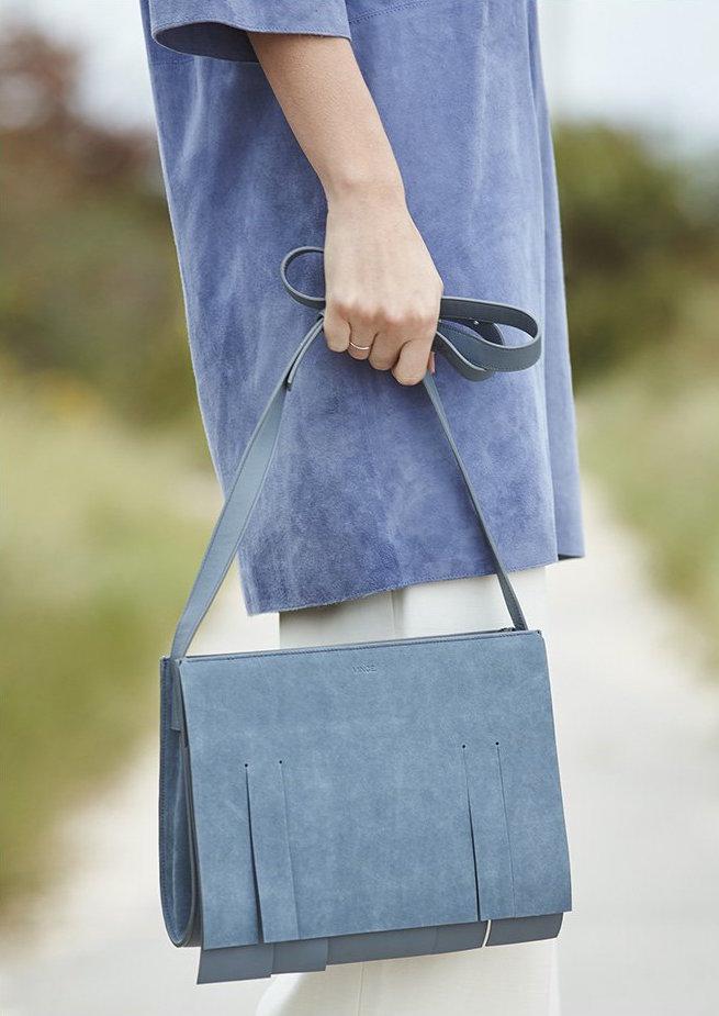 Vince Fringe Shoulder Bag