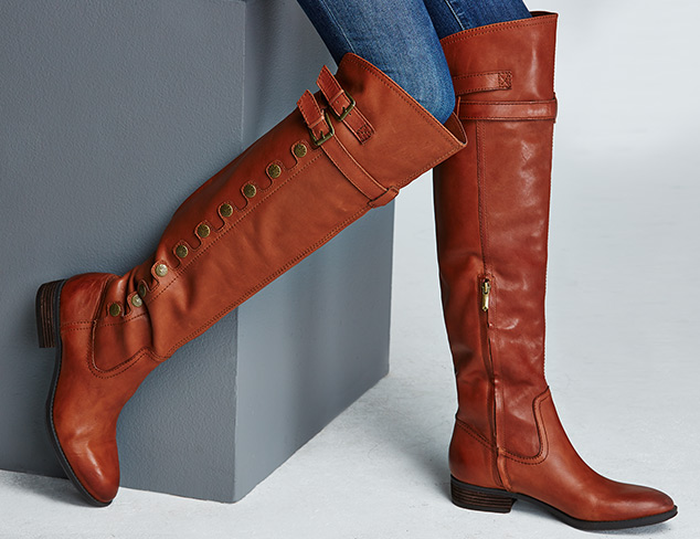 Winter Chic Over-the-Knee Boots at MYHABIT