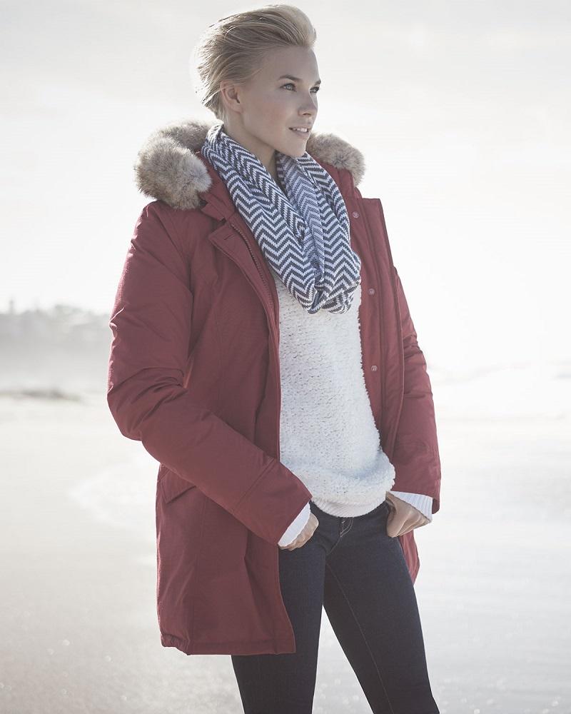 Woolrich John Rich & Bros. Arctic Placket-Front Parka-