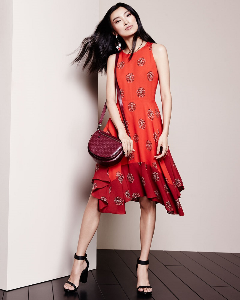 A.L.C. Elisa Sleeveless Printed Dress
