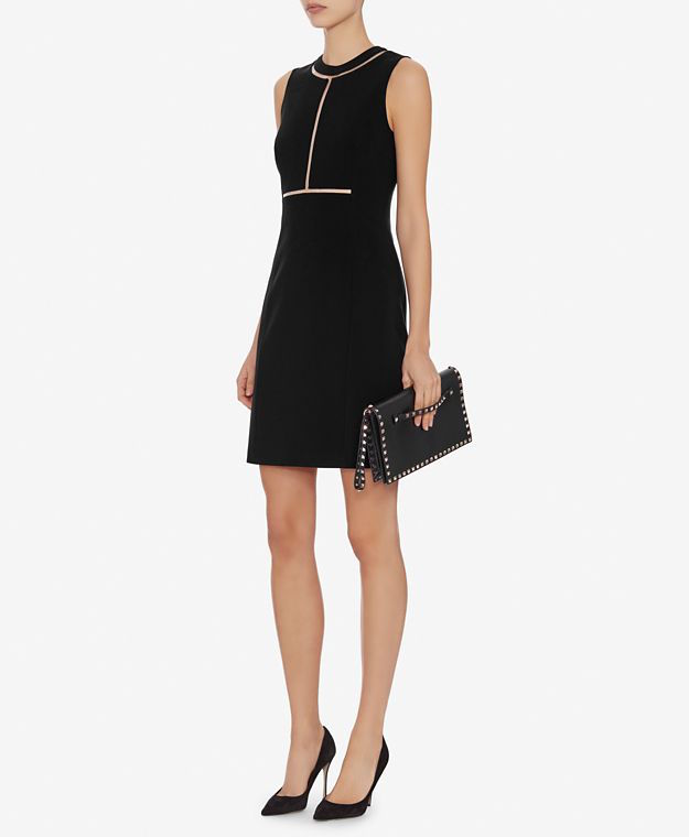 Alexander Wang Fishline Detail Fitted Sheath Dress