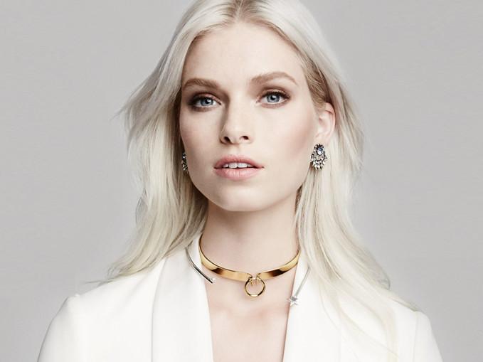 Alexis Bittar Miss Havisham Bar Choker Necklace