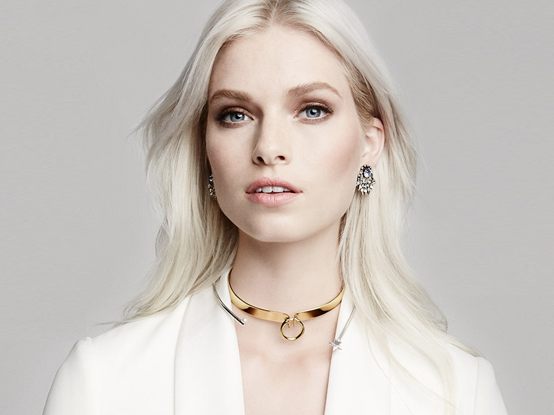 Alexis Bittar Miss Havisham Bar Choker Necklace