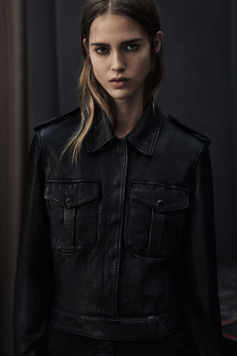 AllSaints Bissel Leather Biker Jacket