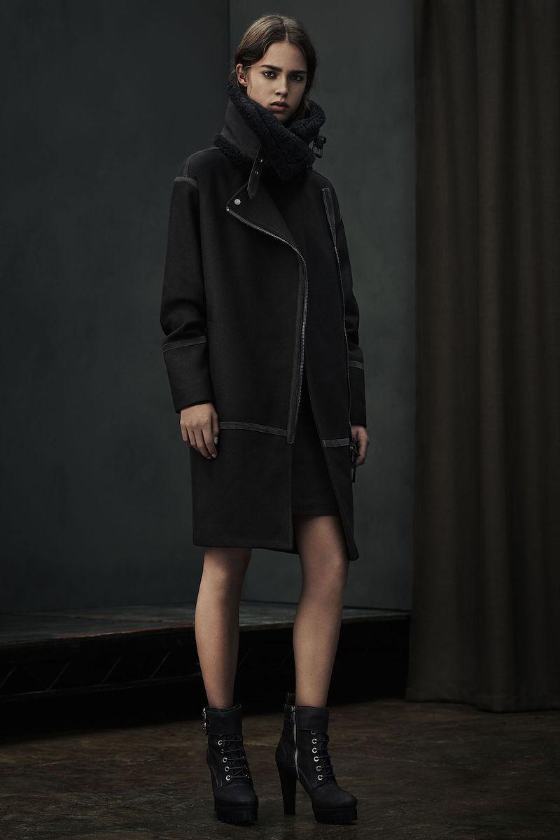 AllSaints Elana Parka Coat
