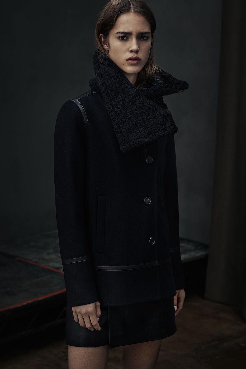 AllSaints Okito Pea Coat