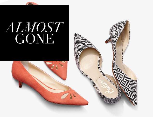 Almost Gone Shoes by Size at MYHABIT