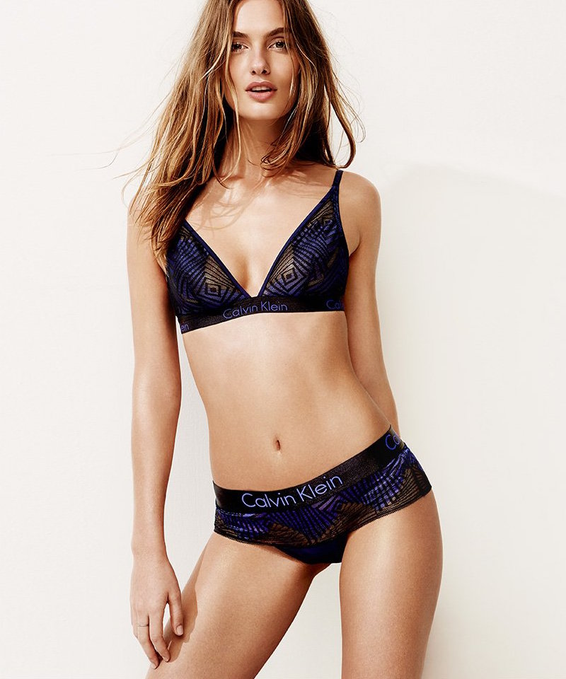 Calvin Klein Underwear Dual Tone Triangle Bra