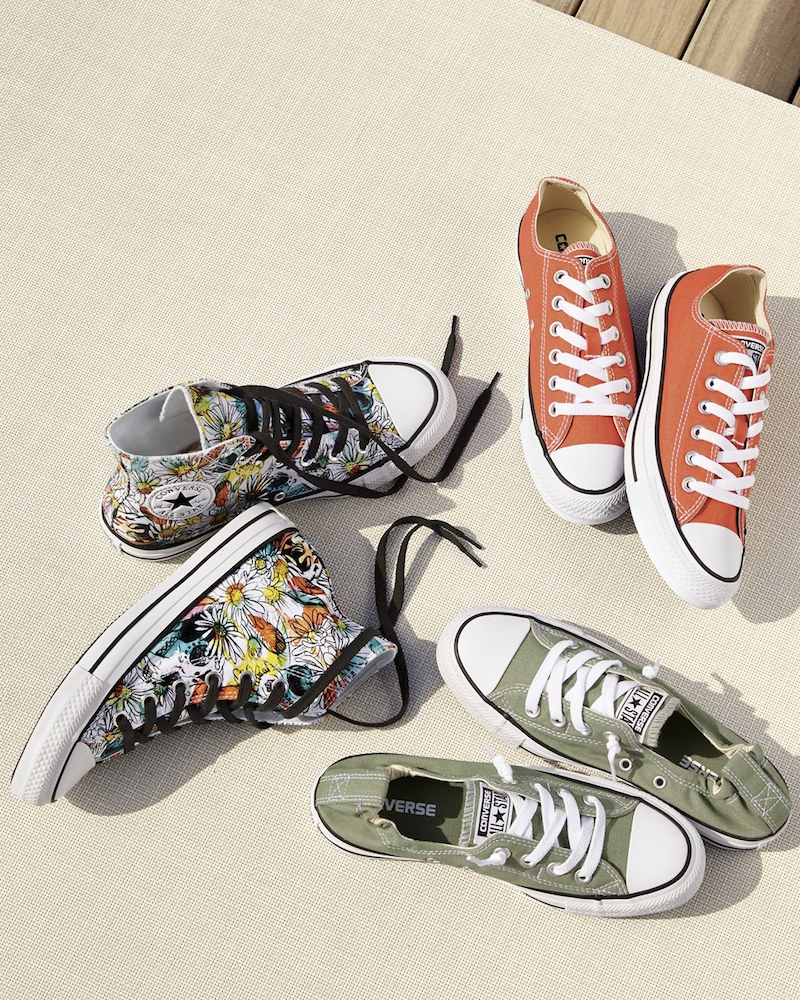 Converse Chuck Taylor All Star Floral High Top Sneaker