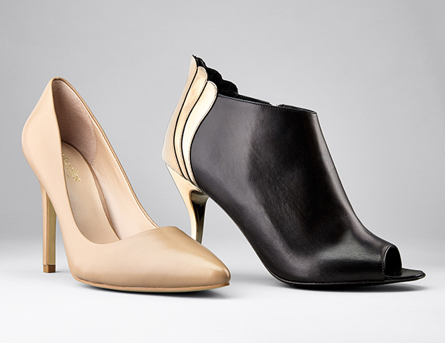 Desk to Dinner Pumps, Booties & More at MYHABIT