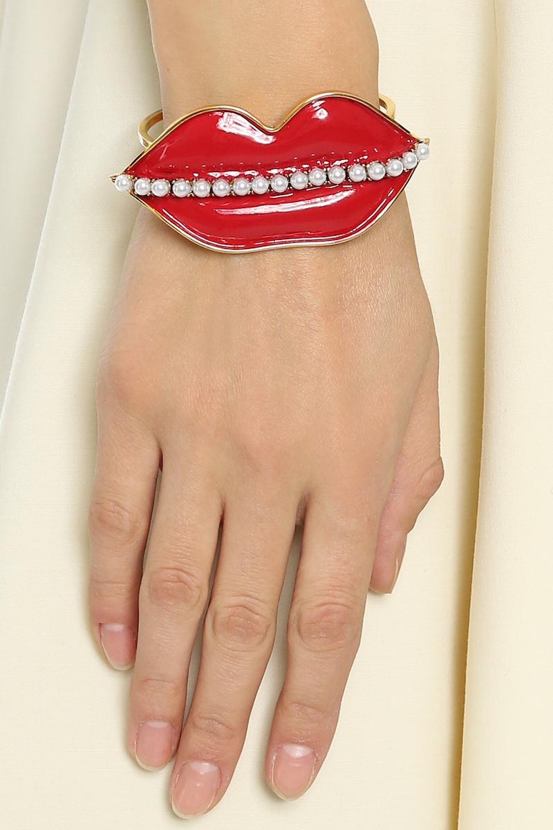 Erickson Beamon So Real Cuff Bracelet