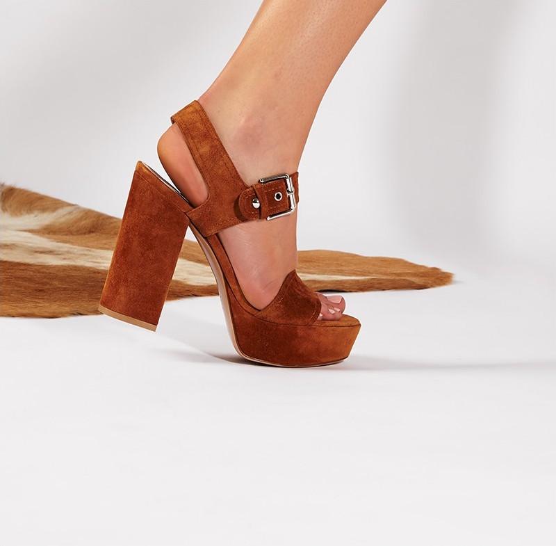 Gianvito Rossi Gina Suede Sandals