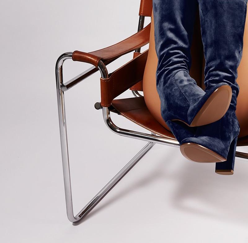 Gianvito Rossi Zip-back Suede Knee-high Boots
