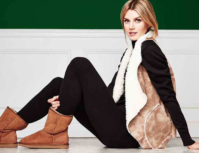Gifts to Impress Shearling Boots, Outerwear & More at MYHABIT