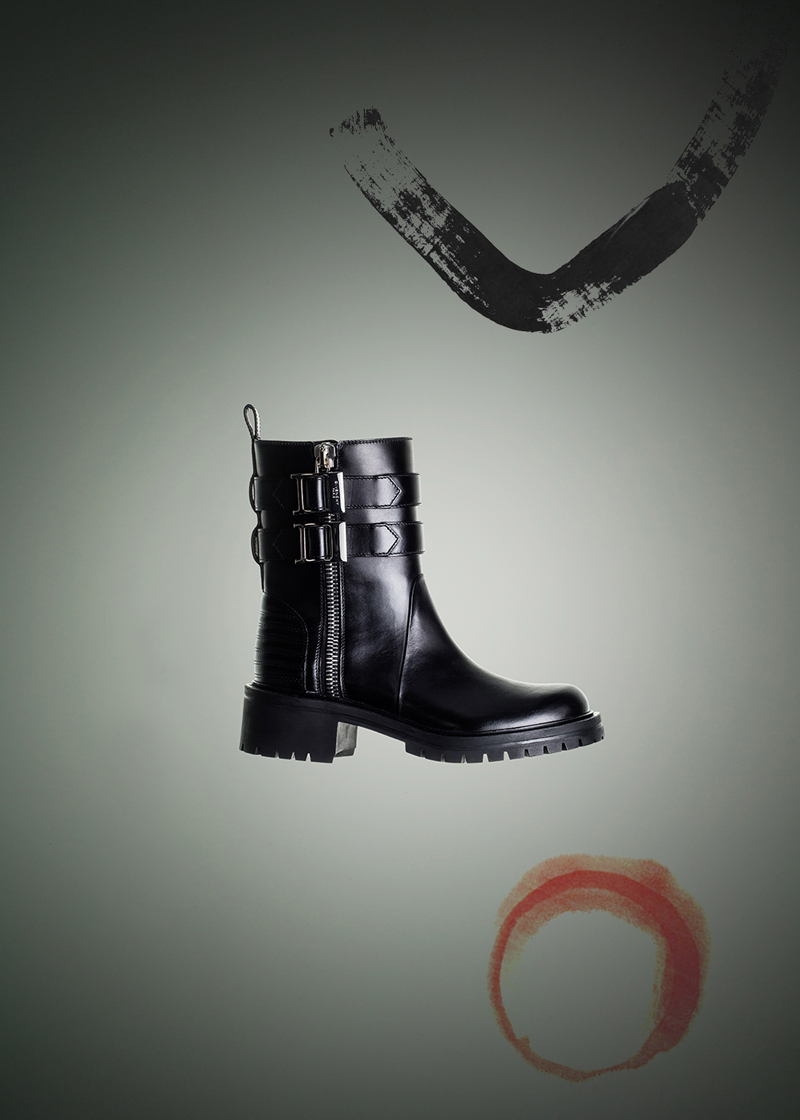 Givenchy Leather Biker Boots