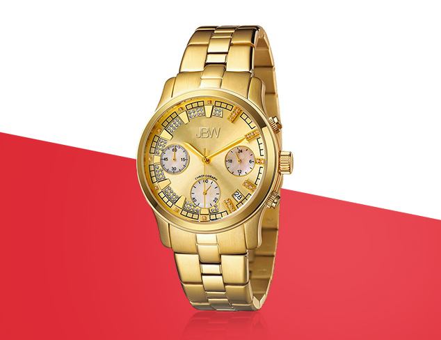 Go For Gold Watches feat. JBW & Jivago at MYHABIT