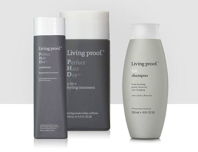 Holiday-Ready Hair feat. Living Proof at MYHABIT