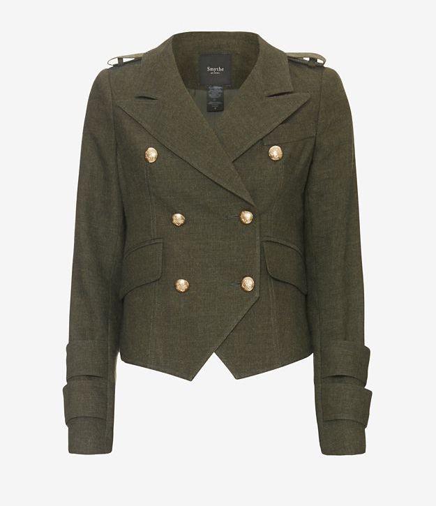INTREMIX Exclusive Smythe Army Cadet Blazer