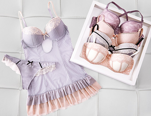 Intimates Update Bras, Sleepwear & More at MYHABIT