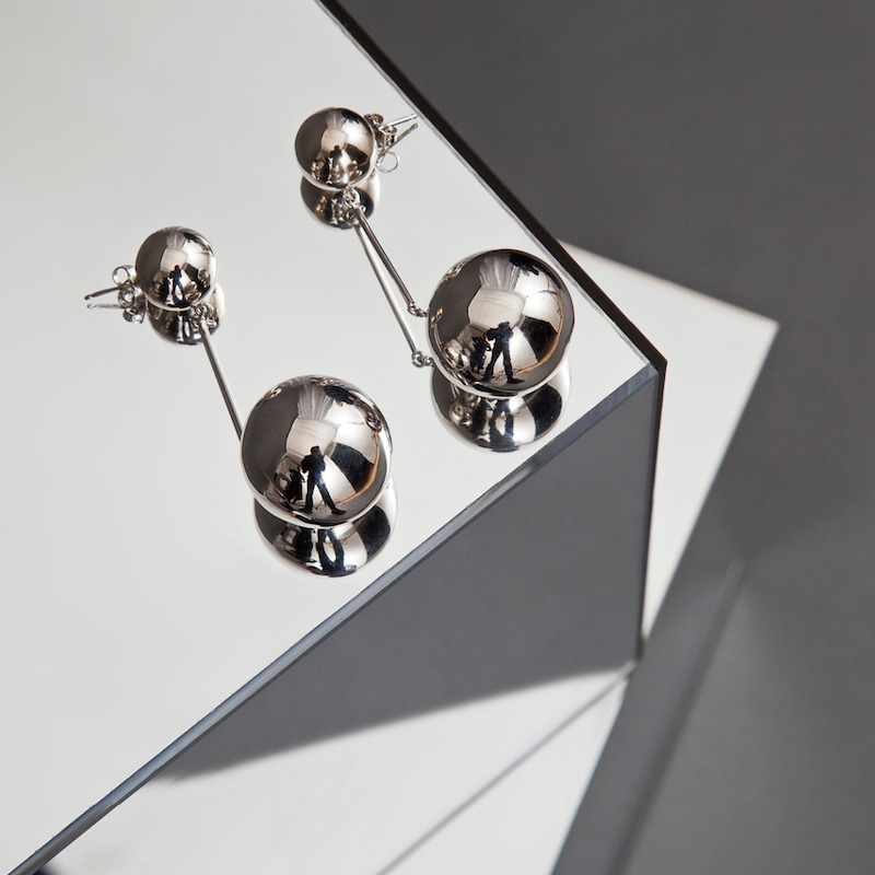 J.W. Anderson Sphere Earrings