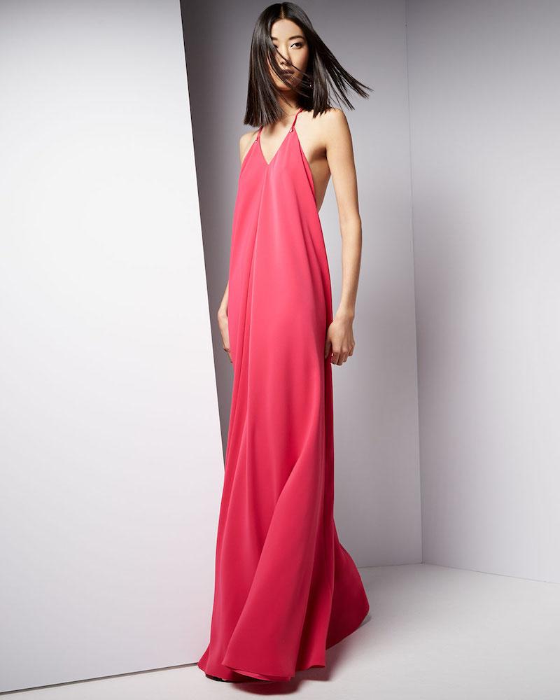 Jill Jill Stuart Halter Sleeveless Slip Gown_1