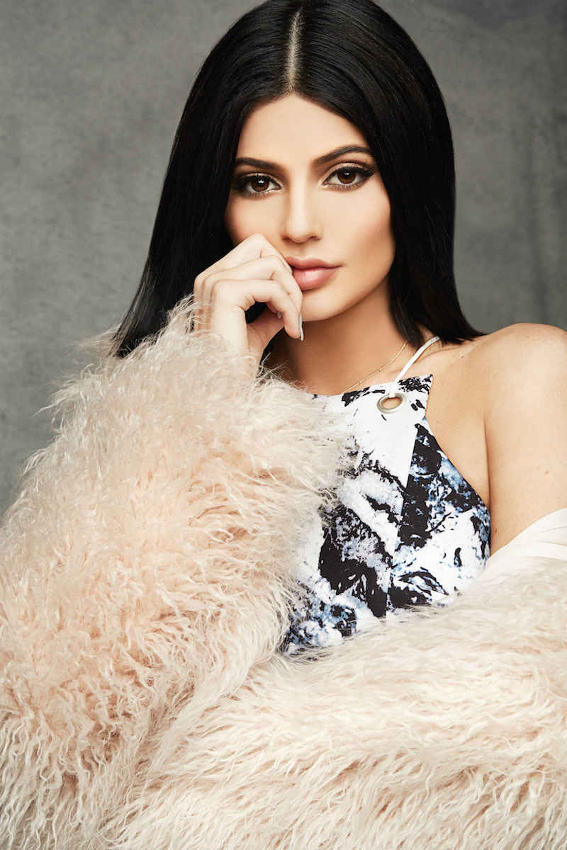 Kendall + Kylie at Topshop Print Cutout Sleeveless Dress