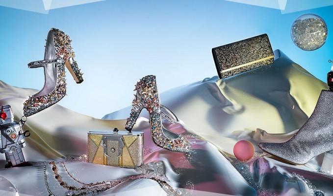 L'Autre Chose glitter booties